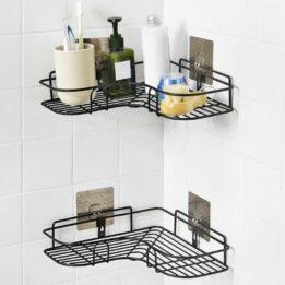 storage organizer shelf for washroom