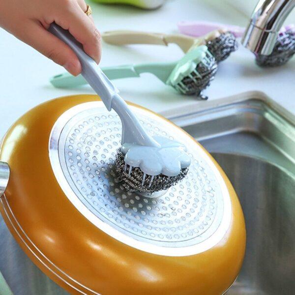 kitchen sink cleaning brush