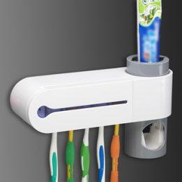 antibacterial uv toothbrush holder and sterilizer