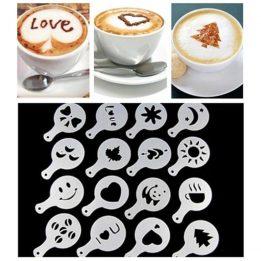 personalised coffee stencils