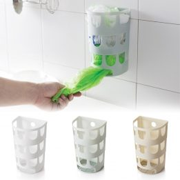 plastic grocery bags holder