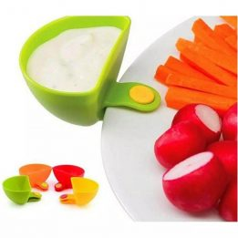 dip clip bowl plate holder