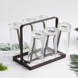 iron glass stand and cup holder pakistan