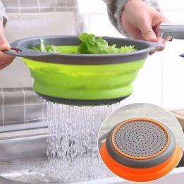 silicone kitchen drain basket