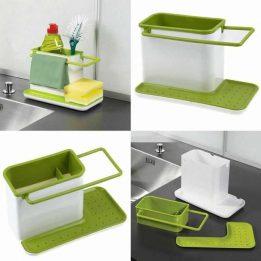 3 in 1 kitchen sink organiser