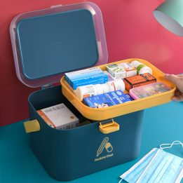 plastic storage boxes for medicines