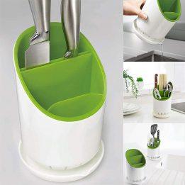 utensil drying rack basket holder