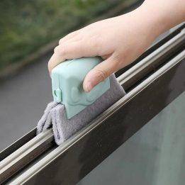 sliding window glass cleaning brush