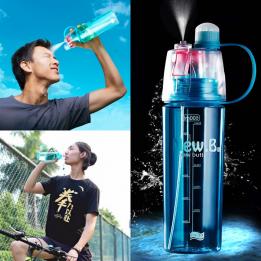 spray sports water bottle