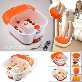 foot spa massager with auto rollers
